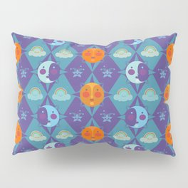 The sun, the moon and the stars Pillow Sham