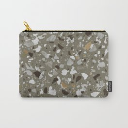 Remembering Terrazzo (pardo) Carry-All Pouch