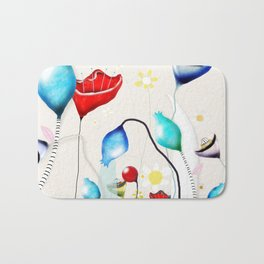 After all that we've been through - Poppy seed dried Rupy de tequila seed pods Bath Mat