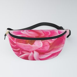 Pink Rose On A Natural Green Background #decor #society6 #buyart Fanny Pack