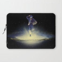 A leap into the unknown Laptop Sleeve