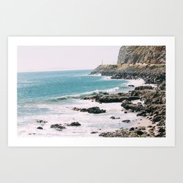 Highway 101 California Art Print