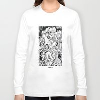 family Long Sleeve T-shirts featuring Family by David Carmo