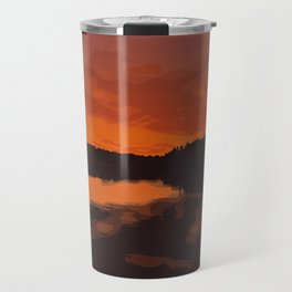 Nopiming Provincial Park Poster Travel Mug