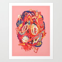 Head (Alternate) Art Print