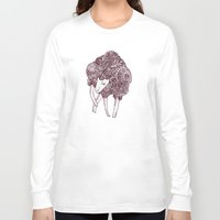 sheep Long Sleeve T-shirts featuring Sheep by Monique Turchan