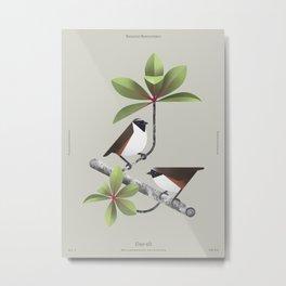 Poo-uli (dsc) Metal Print