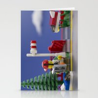 airplanes Stationery Cards featuring Airplanes by Pedro Nogueira
