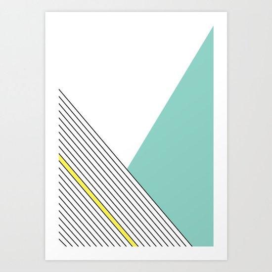 MINIMAL COMPLEXITY Art Print