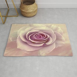 Tea Rose Painterly Abstract Rug