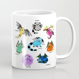 Eight Little Iggys Coffee Mug