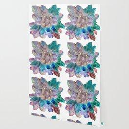 Aura Crystal Bouquet Mandala Wallpaper