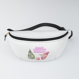 Have A Very Merry Christmas Pig Gifts Fanny Pack