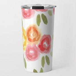 Vintage Florals Travel Mug