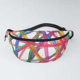 Lines Of Transparency Fanny Pack