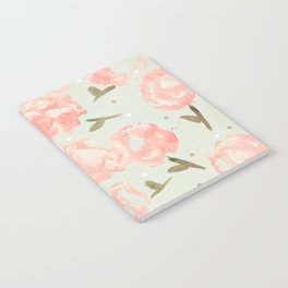 Syana's Cabbage Roses Notebook