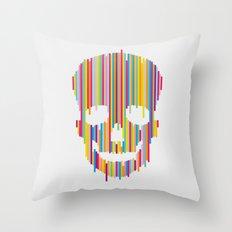 Skull Study no.1 Throw Pillow