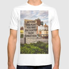 Highline View III MEDIUM Mens Fitted Tee White