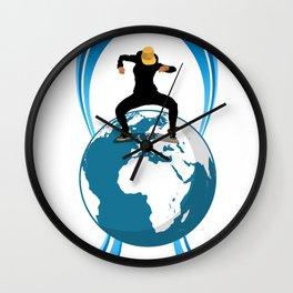 Dance on the Earth Wall Clock