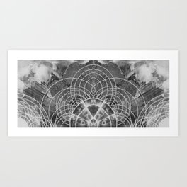Astrologer's Compass II Art Print