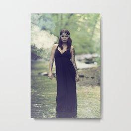 Nixie Metal Print