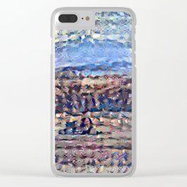 Recolored Mount Brocken Clear iPhone Case