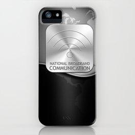 nbc :: black iPhone Case