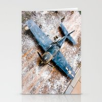 airplane Stationery Cards featuring Airplane by Mauricio Santana