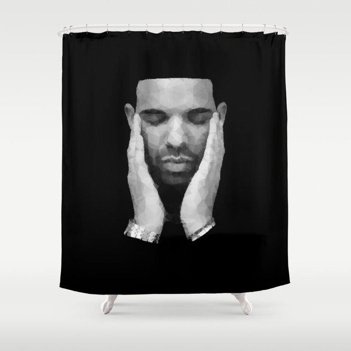 Drake Shower Curtain By Gadapparel