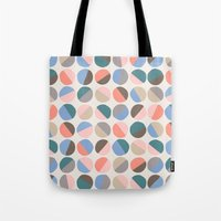 pills Tote Bags featuring Serenity pills by Alexandra Aguilar
