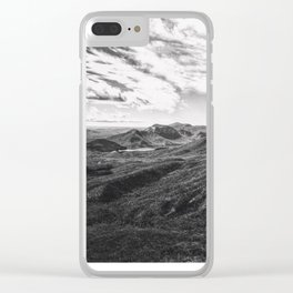 Race Of The Clouds Clear iPhone Case