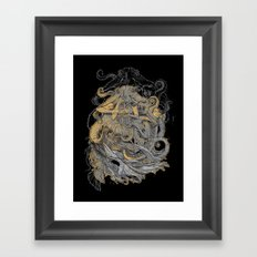 Octolady Framed Art Print