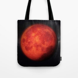 Super bloody moon Tote Bag