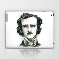 Edgar Allan Poe and Ravens Laptop & iPad Skin