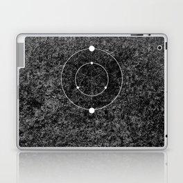 Circle Moon Texture Laptop & iPad Skin