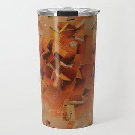 """""""The Hot Energy"""" Ecologic atypic art - 1/3 - by WHITEECO Ecologic design Travel Mug"""