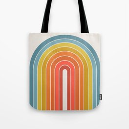 Gradient Arch - Rainbow II Tote Bag