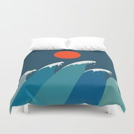 Cat Landscape 15 Duvet Cover