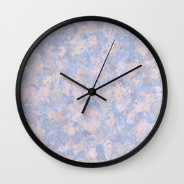 Rose Quartz and Serenity Blue 4644 Wall Clock