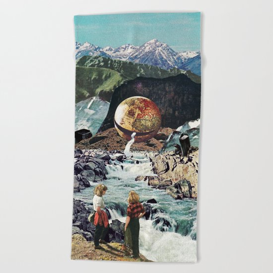 The Great Flood Beach Towel