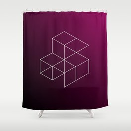 Geometry Shower Curtain