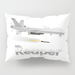 Reaper Military UAV Pillow Sham