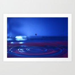 Timeless Waterdrop Art Print