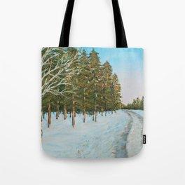 Frozen Path Tote Bag