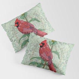 Virginia Cardinal Pillow Sham