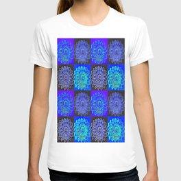 Many Blue Stars T-shirt