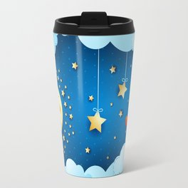 Valentine night with full moon Travel Mug