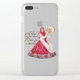 Turk Shirazi Clear iPhone Case