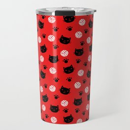 Volley Cats! Travel Mug