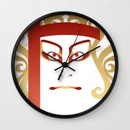 Sukeroku - a Kabuki Portrait Wall Clock